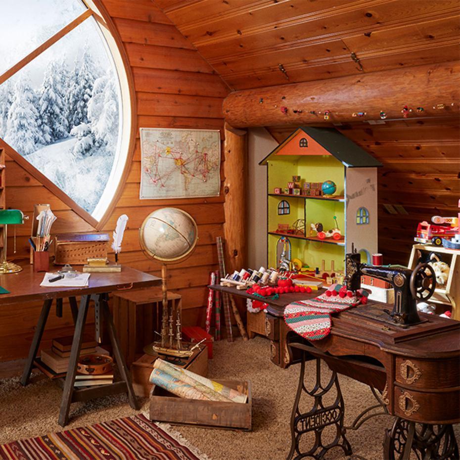 la maison du p re no l cd mentiel magazine le magazine d mentiel. Black Bedroom Furniture Sets. Home Design Ideas