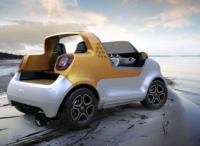 smart forsea amphibie la voiture capable d 39 aller sur l. Black Bedroom Furniture Sets. Home Design Ideas